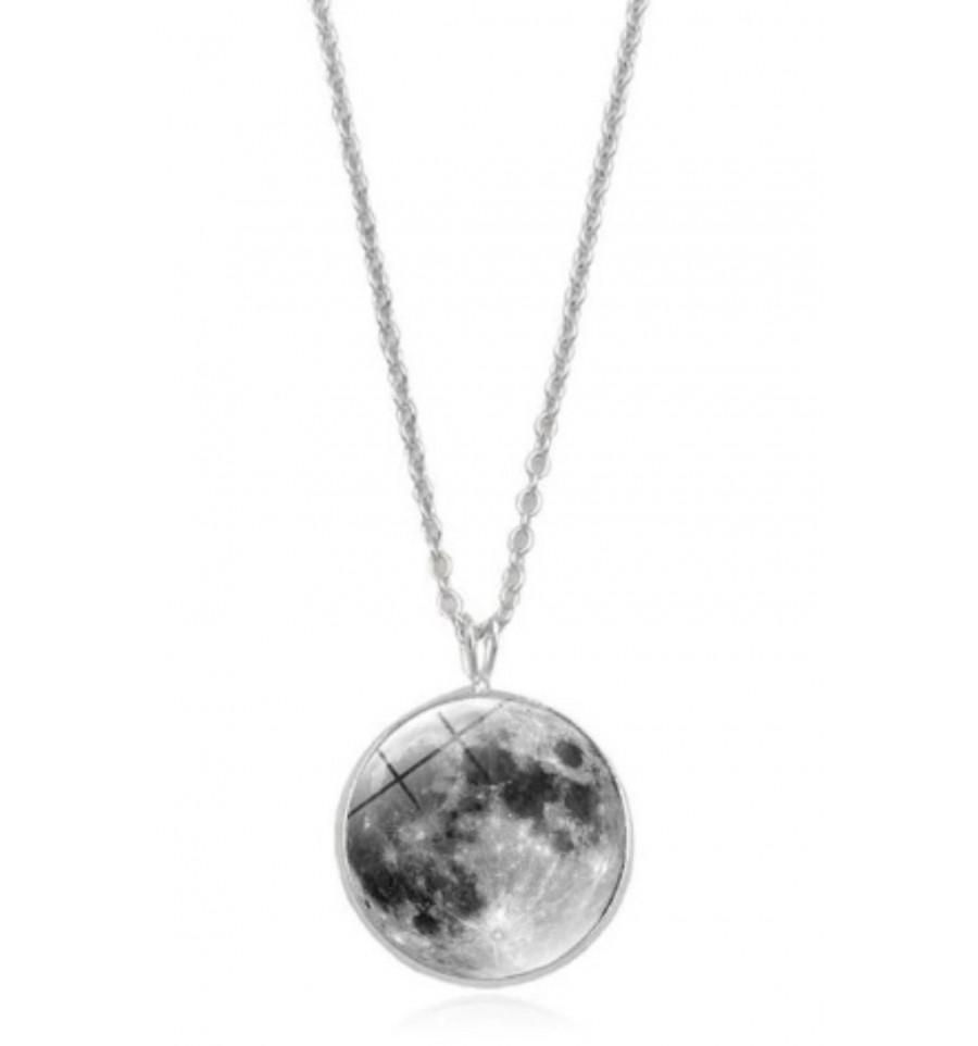 collier lune pleine