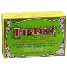 Savon au soufre Tabiano anti acné. Supersapone Tabiano pas cher.