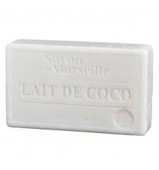 Savon de Marseille au lait de coco, formulation naturelle végétale.