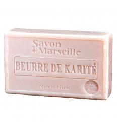 Il sapone di marsiglia, arricchita con burro di karité, è molto idratante.