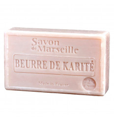 Marseille soap enriched with shea butter, very moisturizing.