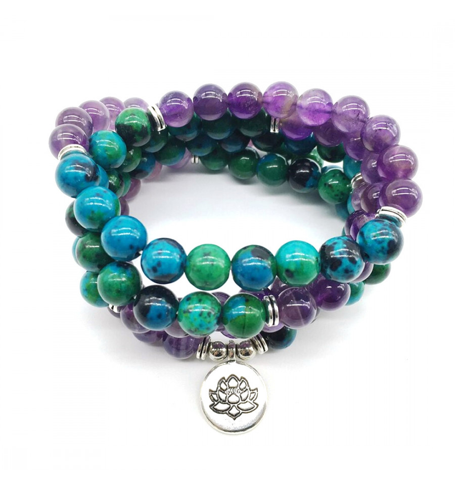 and Anxiety Healing Yoga Chakra Bracelet For Headache Backache Crystal Healing Gemstones Aventurine Red Jasper Rhodonite