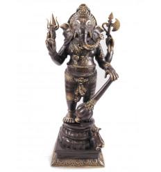 Statuetta di Ganesh en bronzo H40cm. Artigianato asiatico.