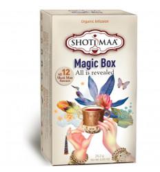 Shoti Maa Scatola Magica. Assortimento di 12 tè e tisane bio.