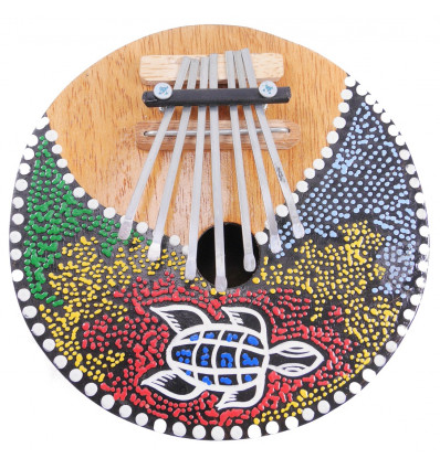 Kalimba or Karimba, original and artisanal musical instrument.