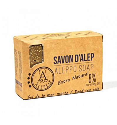 Soap of Aleppo to the dead sea salt, caring, soothing, purifying, purchase.