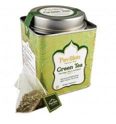 Tè verde biologico indiano zenzero menta, citronella, ricetta ayurvedica.