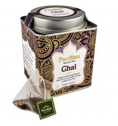Thé noir chai bio indien ayurvédique cannelle gingembre, Pavilion.