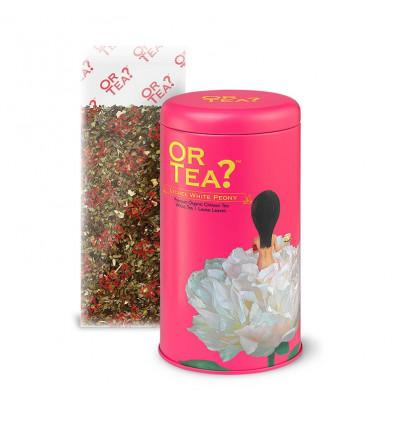 Thé blanc bio de Chine parfumé au litchi. Thé haut de gamme original.