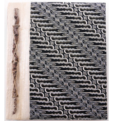 Album di foto in bianco e nero, 40 punti di vista. Costruito a mano, artigianato provenienti da Bali.