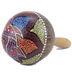Maracas coconut - music Instrument and object deco