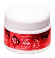 Crema nutriente vegan olio di jojoba, crema ayurvedica.
