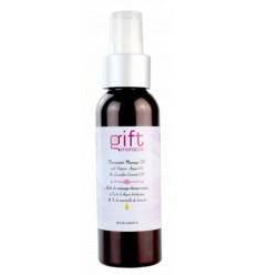 Olio per massaggi terapeutici e olio essenziale di lavanda e olio di Argan bio 100 ml
