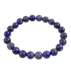 Bracelet Lithotherapie pearl 10mm Malachite - Protection, healing, clairvoyance.
