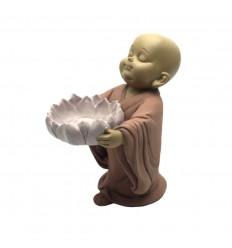 Bougeoir Zen bébé bouddha pour bougie chauffe-plat. Achat pas cher.