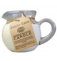 "Massage candle ""Anti-pain"". Jojoba oil, rosemary, ginger, geranium, clove - 220 gr"