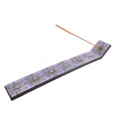 Incense holders wooden pattern Aum (Ôm) - for sticks