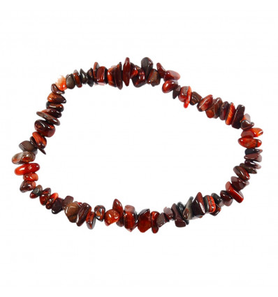 Bracelet baroque Fluorite multicolor - Anti-stress, concentration, stability.