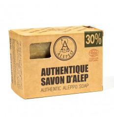 Authentique savon d'Alep artisanal. 30% d'huile de laurier Petit prix