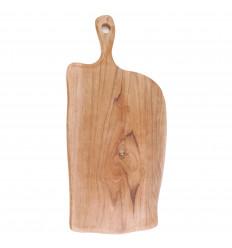Tagliere in legno di teak, 50cm. Legno esotico. Artigianato a buon mercato.