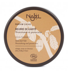 ORGANIC shea butter scent cocoa Najel. Nourishing and protective.