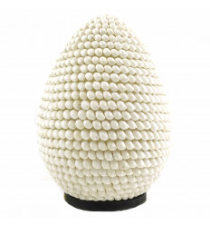 Bedside lamp shells H30cm | light Fixture exotic