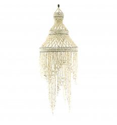 Lampadario Conchiglie Deco Esotici Fiera dell'Artigianato e 100cm