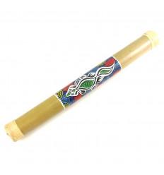 Bastone della pioggia Artigianali di Bambù e Rattan 50 cm, di forma allungata