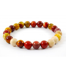 Bracelet Lithotherapie Jasper multicolor - Serenity, tranquility and confidence