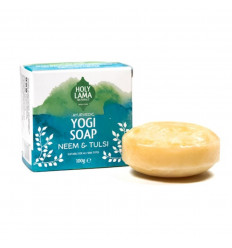 Soap ayurvedic Vegan Yoga at neem and tulsi. Natural soap vegan.