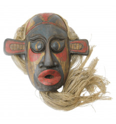 Mask primitive rare style, first arts. Deco modern chic design.