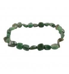Bracelet Jade Africain (Budstone), pierres roulées qualité AAA