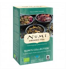 Assortimento di tè biologici, commercio equo e solidale e tè Numi certificato senza OGM