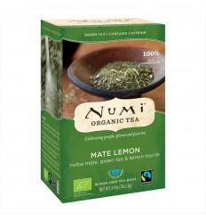 Tè Maté Lemon Numi, Yerba Mate e Bevanda al Tè Verde Biologico senza OGM