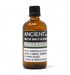 Olio da massaggio, olio da bagno terapeutico antietà per la cura della pelle