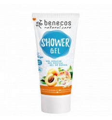 Organic Apricot Elderflower Shower Gel 200ml - Benecos