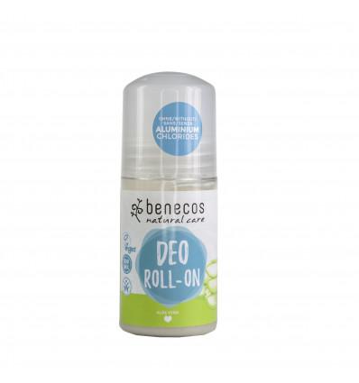Roll On Organic Deodorant with Aloe Vera 50ml - Benecos