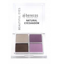 4-color organic eye shadow - Beautiful Eyes - Benecos