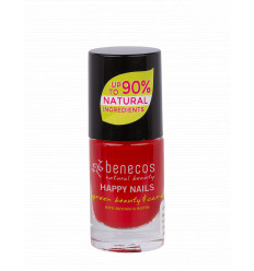 Organic and Vegan nail polish - Trendy red - Benecos