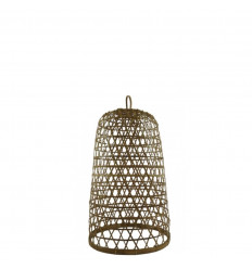 Rattan and Bamboo Suspension Ubud Model ø18cm - Handcrafted creation