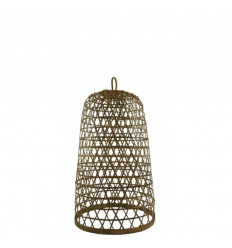 Rattan and Bamboo Suspension Ubud Model ø22cm - Handcrafted creation