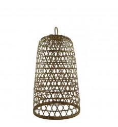 Sospensione in rattan e bambù Modello Ubud ø26cm - Creazione artigianale