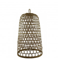 Rattan and Bamboo Suspension Ubud Model ø30cm - Handcrafted creation