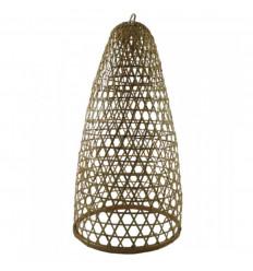 Suspension en Rotin et Bambou Modèle Jimbaran 60cm - Création artisanale