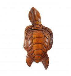 Wooden secret box - Turtle shape