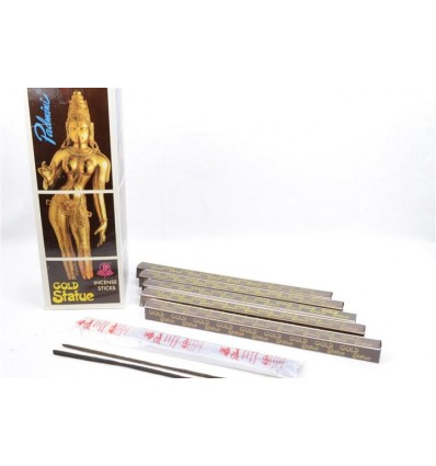 Incense Gold Statue. Lot of 80 sticks brand Padmini