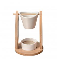"Profumo ardente ""Sailing"" in bambù e ceramica"