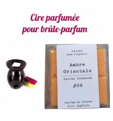 """Pastilles de cire parfumée, senteur """"Ambre"""" par Drake"""