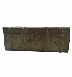 Great canteen, trunk old metal Trunk 60cm