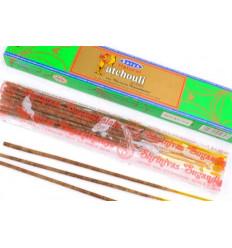 Encens Natural Patchouli. Lot de 60 bâtonnets marque Satya Sai Baba